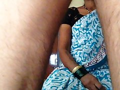 tamil maid in saree getting fucked handsomely by owner